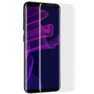 Vidro Temperado Alta Definição (HD) Borda Arredondada 2.5D Resistente a Riscos Protetor de Tela Frontal Samsung Galaxy