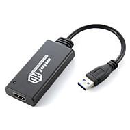 cwxuan ™ USB 3.0-HDMI ulkoinen grafiikkakorttia näyttö sovitin näytön projektori