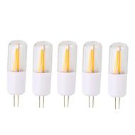 2W LED2本ピン電球 T 2 COB 200 lm 温白色 クールホワイト V 5個
