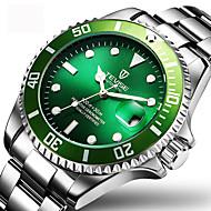 Heren Dress horloge Modieus horloge Polshorloge mechanische horloges Automatisch opwindmechanisme Kalender Waterbestendig Lichtgevend