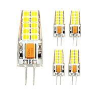 3W Żarówki LED bi-pin T 20 SMD 2835 280 lm Ciepła biel Zimna biel V 5 sztuk
