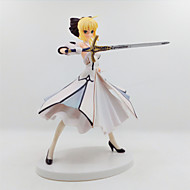 Anime Toimintahahmot Innoittamana Fate/stay night Saber Lily PVC 18 CM Malli lelut Doll Toy