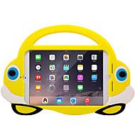 Apple iPad mini 4 3/2/1 iskunkestävä lapsille turvallinen takakansi tapauksessa 3d sarjakuva pehmeä silikoni EVA