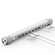 Orico m4u3 hub super speed 5.0 gbps 3 portas tipo-c com cabo de 0,5m
