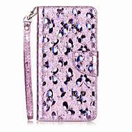Kotelo apple iphone 7 plus 7 kortin haltija flip kuvio puhelin tapauksessa läppä glitter loistaa pu nahkaa iphone 6s 6 6splus 6plus 6 6s 5