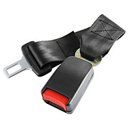 Rígido del asiento de coche Cinturón Cinturones Extender Longer Extensión Seguridad Hebilla 25cm