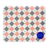 청소년 광장 tr-af18547 기질 기하학 마우스 패드 방수 착용 westistant 22.5 * 19.5 * 0.5cm