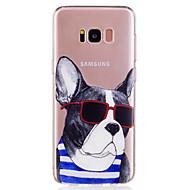 Voor Samsung Galaxy S8 plus s8 telefoon hoesje tpu materiaal puppy patroon geverfde telefoon hoesje s7 rand s7 s6 rand s6