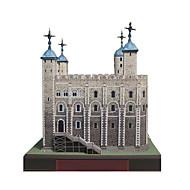 Puzzle Zestaw DIY Zabawki 3D Cegiełki DIY Zabawki Wieża Znane budynki Architektura