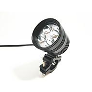 Motosiklet spot ışık harici ışık su geçirmez ışık 4 boncuk lamba