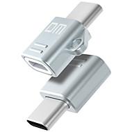 USB 2.0 Type-C Portable OTG Adaptateur Pour Samsung Huawei Xiaomi