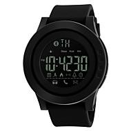 SKMEI 여성용 남성용 스포츠 시계 스마트 시계 디지털 시계 디지털 PU 밴드 블랙