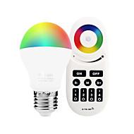 6W LED Έξυπνες Λάμπες A60(A19) 14 SMD 5050 600 lm RGB + λευκόΥπέρυθρος Αισθητήρας Με ροοστάτη Τηλεχειριζόμενο WIFI Έλεγχος APP Έλεγχος