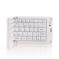 Bluetooth teclado ergonômico Mini Dobrável Para Windows 2000/XP/Vista/7/Mac OS Android OS iOS iPad 1 iPad 2 iPad 3 iPad 4 iPad mini iPad