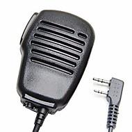 Rainproof 2-pin olkapää kauko-ohjain mikrofoni ptt kenwood wouxun puxing baofeng kaksisuuntainen radio 2pin
