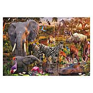 Jigsaw Puzzle Fejtörő Építőkockák DIY játékok Mások Elefánt Madár Bika Ló Zvijezda
