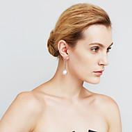 Damskie Kolczyki Ustaw Pearl imitacja Modny euroamerykańskiej Film Biżuteria Sexy Miedź Circle Shape Biżuteria NaWydarzenie / impreza Na