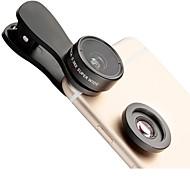 Lieqi f-515 telefonlinser 145 vidvinkelobjektiv makroobjektiv aluminium 15x mobiltelefon kamera linser kit til Samsung ogroid smartphones