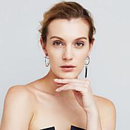 Damskie Kolczyki Ustaw Pearl imitacja Modny Osobiste Niedopasowanie Miedź Circle Shape Biżuteria NaWydarzenie / impreza Na co dzień