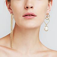 Dame Dråbeøreringe Imiteret Perle Imiteret DiamantPersonaliseret Euro-Amerikansk Movie smykker luksus smykker Statement-smykker Mismatch