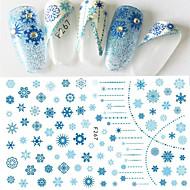 1 Nail Art Samoprzylepna Wzór Akcesoria DIY Dziewczyny i młode kobiety 3-D Kosmetyki do makijażu Nail Art Design