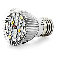 8W E27 LED-växtlampa 28 SMD 5730 800 LM Varmvit UV Röd Blå V 1 st
