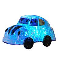 Palapelit DIY-setti 3D palapeli Rakennuspalikoita DIY lelut Auto Muovit