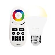 6W LED Έξυπνες Λάμπες A60(A19) 14 SMD 5050 600 lm RGB RGB + θερμόΥπέρυθρος Αισθητήρας Με ροοστάτη Τηλεχειριζόμενο WIFI Έλεγχος APP