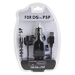 3-em-1 carregador USB para PSP 1000/2000 e NDS Lite
