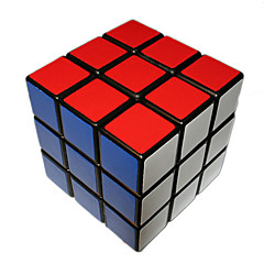 Leksaker Magiska kuber Rubik Cube 3*3*3 magic Toy Slät Hastighet Cube Magic Cube pussel Svart Blekna Plastic
