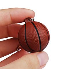 Llavero Baloncesto Clásico y Atemporal Llavero / Flexible Marrón Plástico