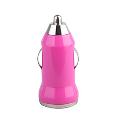 700mA auton tupakansytyttimen powered usb adapteri / laturi (dc 12v / 24v) -rose iPhone 6 iphone 6 plus