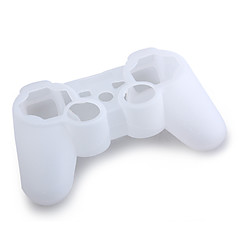 Protective Silicone Case for PS3 Controller (White)