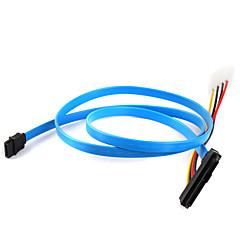 harddisk sas kabel 29p til 1 * SATA 7p kabel 70cm