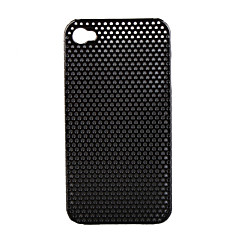 Plated Mesh Protective Case for iPhone4 (Random Color)