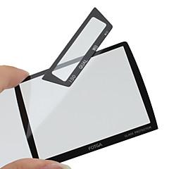 Fotga premio lcd schermata del pannello di protezione in vetro per Nikon D3/D3x