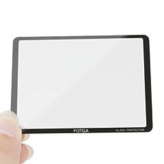 Fotga premio lcd schermata del pannello di protezione in vetro per Canon EOS 450D/500D