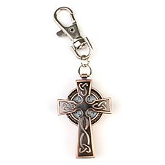 форме креста брелок часы (бронза)