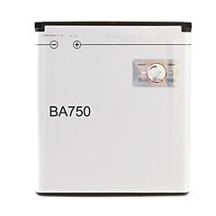 ソニーエリソン用3.7V〜1500mAh李イオン電池 - ba750