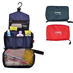 Τσάντα καλλυντικών για Ανδρικά Γυναικεία Αποθηκευτικοί χώροι ταξιδίουΠορτοκαλί Σκούρο μπλε Κόκκινο Μπλε