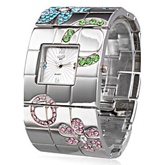 Femme Quartz Bande Bracelet Argent Marque-