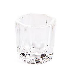 cristallo dappen piatto nail art acrylice liquido powde