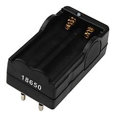 digitale agli ioni di litio caricabatterie eu spina per 2x18650