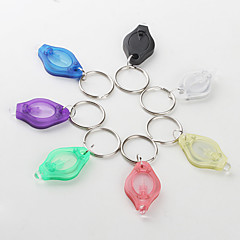 7-color White Light 22000 mcd LED Flashlight Keychain (Small)