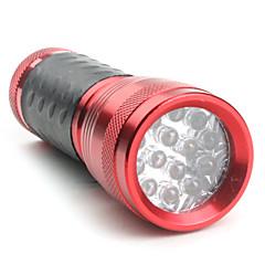 1 모드 14 LED 플래쉬 등 (3x10440/3xaaa, 빨강)
