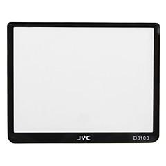 JYC pro optischem Glas LCD Screen Protector für Nikon D3100