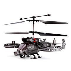 자이로와 4-채널 건십 슈팅 IR 헬리콥터