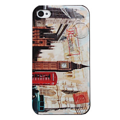 Vintage Bell Tower Style Case for iPhone 4 and 4S (Beige)