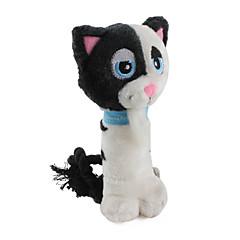 개를위한 부드러운 소프트 고양이 애완 동물 삐꺽이는 소리 장난감 (19 X 9cm)