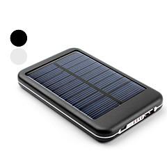 Cargador Solar Portátil de 5000mAh USB y Batería Externa Para el iPhone, iPad y Teléfonos Móvil